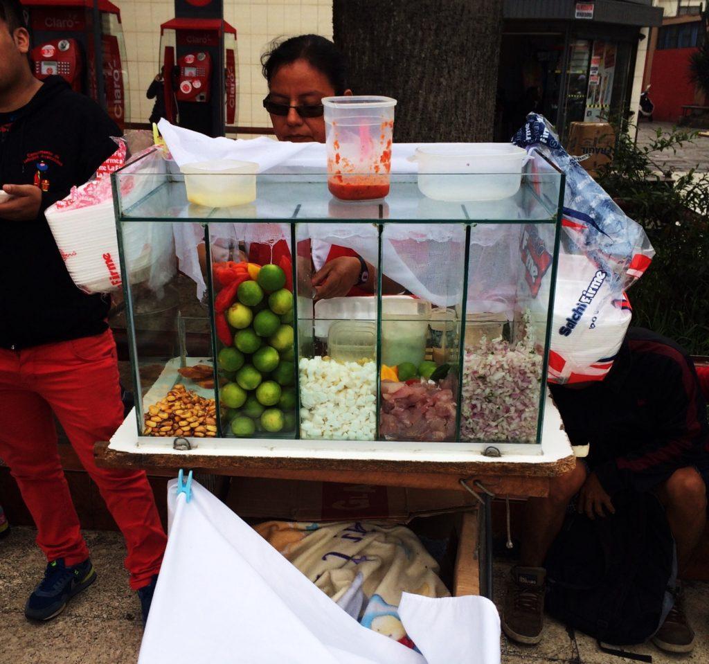 Mobile Ceviche stand