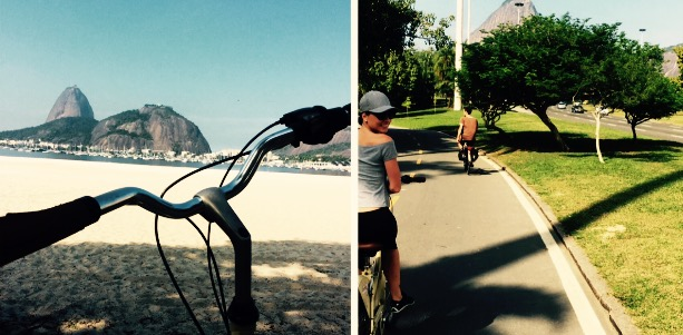 Rio by bike tour